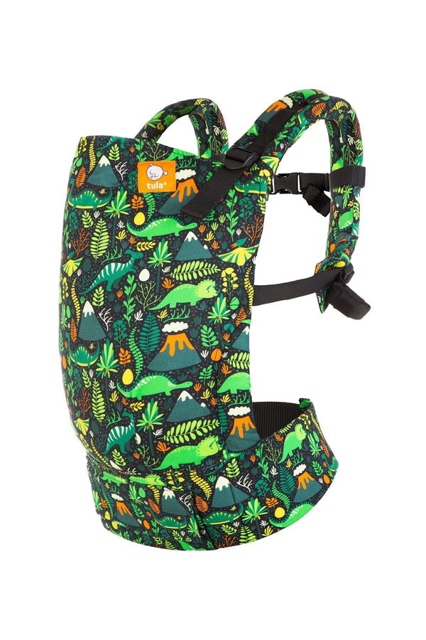 Hot Lava - Tula Toddler Carrier-Buckle Carrier-Baby Tula- Little Zen One US Babywearing baby carriers