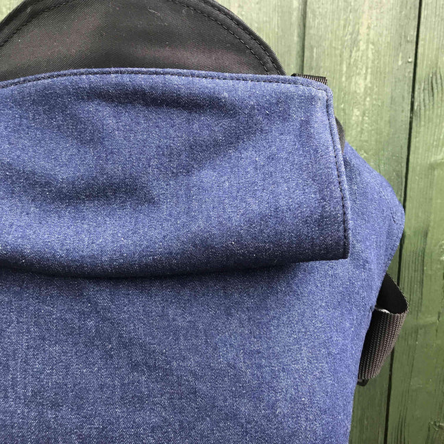Integra Baby Carrier Denim-Buckle Carrier-Integra- Little Zen One US Babywearing baby carriers