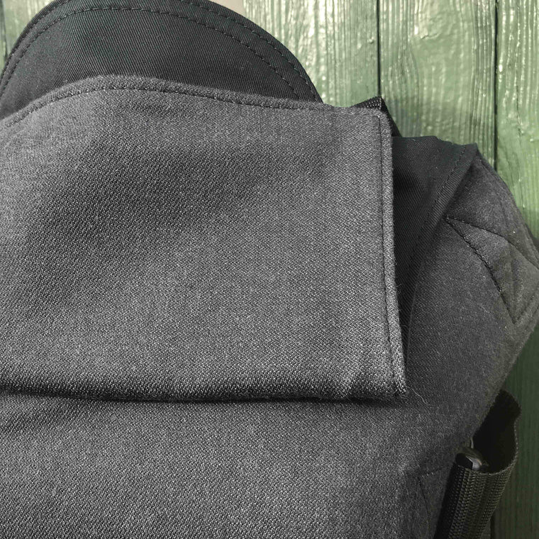 Integra Baby Carrier Didymos Doubleface Anthracite-Buckle Carrier-Integra- Little Zen One US Babywearing baby carriers