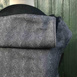 Integra Baby Carrier Didymos Twisted Lisca Anthracite-Buckle Carrier-Integra- Little Zen One US Babywearing baby carriers