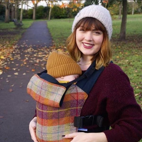 Integra Baby Carrier Harris Tweed Fauna-Buckle Carrier-Integra- Little Zen One US Babywearing baby carriers