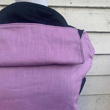Integra Baby Carrier Lavender Linen-Buckle Carrier-Integra- Little Zen One US Babywearing baby carriers