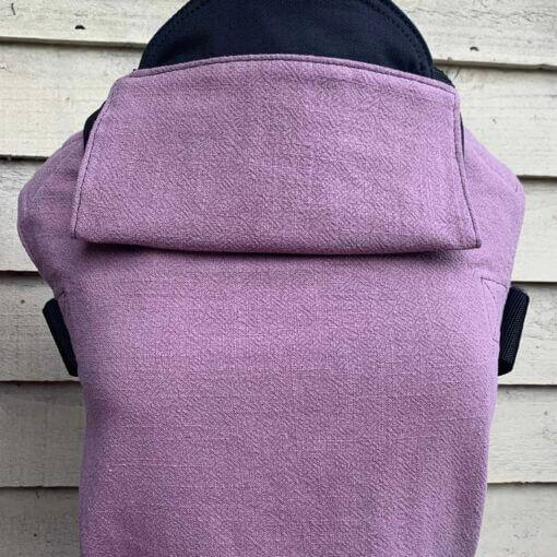 Integra Baby Carrier Mauve Texture Linen-Buckle Carrier-Integra- Little Zen One US Babywearing baby carriers