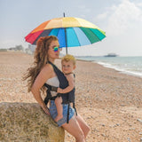 Integra Baby Carrier Solar Jet Black-Buckle Carrier-Integra- Little Zen One US Babywearing baby carriers