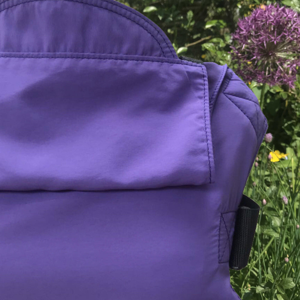 Integra Baby Carrier Solar Ultra Violet-Buckle Carrier-Integra- Little Zen One US Babywearing baby carriers