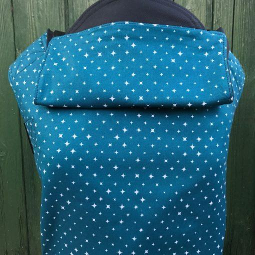 Integra Baby Carrier We Are All Stars Teal-Buckle Carrier-Integra- Little Zen One US Babywearing baby carriers