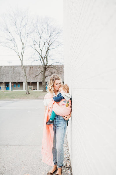 Junior Foxes Ring Sling The Betsy-Ring Slings-Junior Foxes- Little Zen One US Babywearing baby carriers