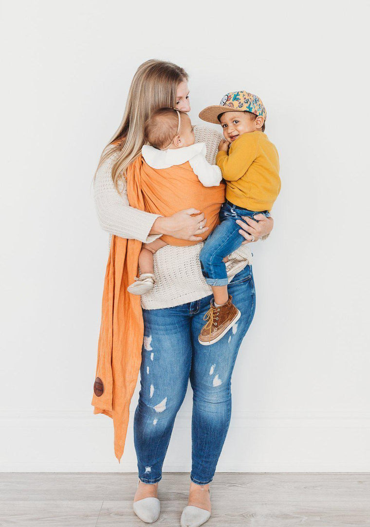 Junior Foxes Ring Sling The Capri-Ring Slings-Junior Foxes- Little Zen One US Babywearing baby carriers