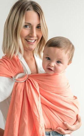 Junior Foxes Ring Sling The Maui-Ring Slings-Junior Foxes- Little Zen One US Babywearing baby carriers