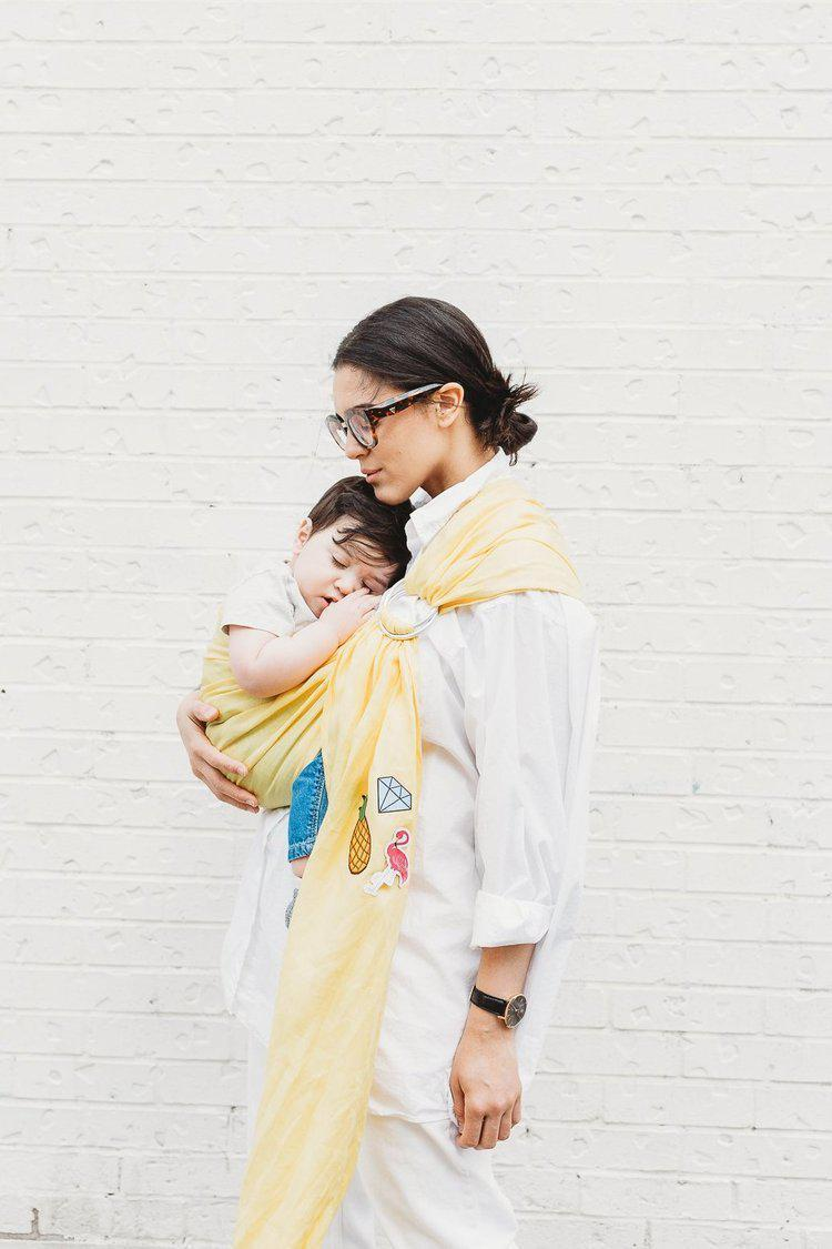 Junior Foxes Ring Sling The Wynwood-Ring Slings-Junior Foxes- Little Zen One US Babywearing baby carriers