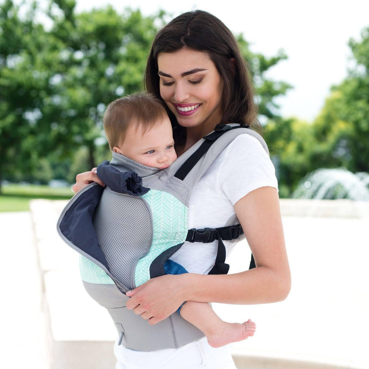 4208d9ea00f LÍLLÉbaby ESSENTIALS All Seasons Boardwalk-Soft Structured Carrier-Lillebaby-  Little Zen One US