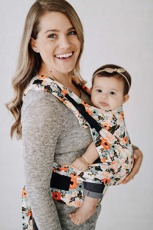 Marigold - Tula Half Buckle Baby Carrier-Half Buckle Baby Carrier-Baby Tula- Little Zen One US Babywearing baby carriers