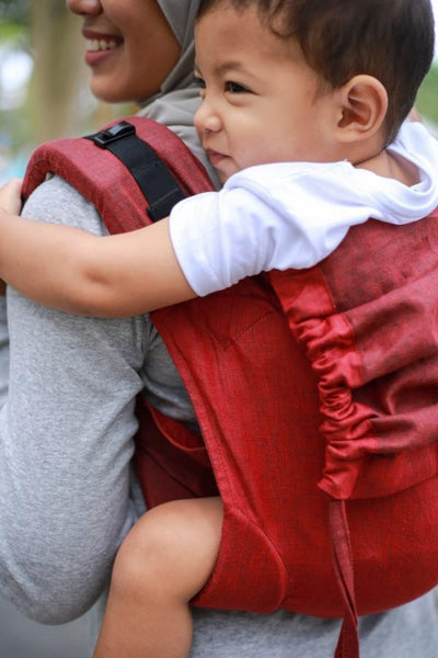 Merlot Onbuhimo Soul Slings-Onbuhimo-Soul Slings- Little Zen One US Babywearing baby carriers