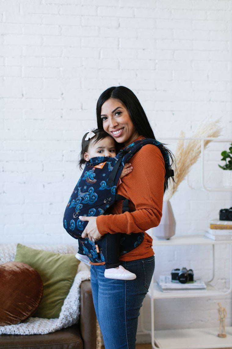 Moonlight Sonata Tula Free-to-Grow Baby Carrier-Buckle Carrier-Baby Tula- Little Zen One US Babywearing baby carriers