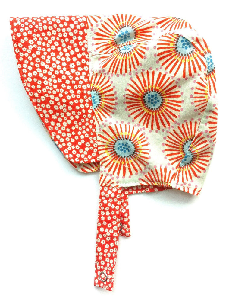 Patouche Burst Reversible Bonnet-Babywearing Accessories-Patouche- Little Zen One US Babywearing baby carriers