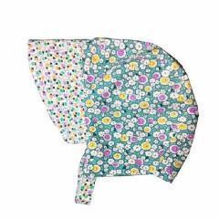 Patouche Reversible Bonnet: Alfalfa-Babywearing Accessories-Patouche- Little Zen One US Babywearing baby carriers