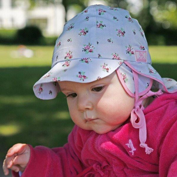 Pickapooh Organic Cotton Sun Hat: Tom Bloom-Babywearing Accessories-Pickapooh- Little Zen One US Babywearing baby carriers