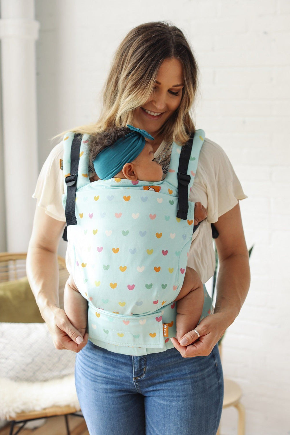 Playful Tula Free-to-Grow Baby Carrier-Buckle Carrier-Baby Tula- Little Zen One US Babywearing baby carriers