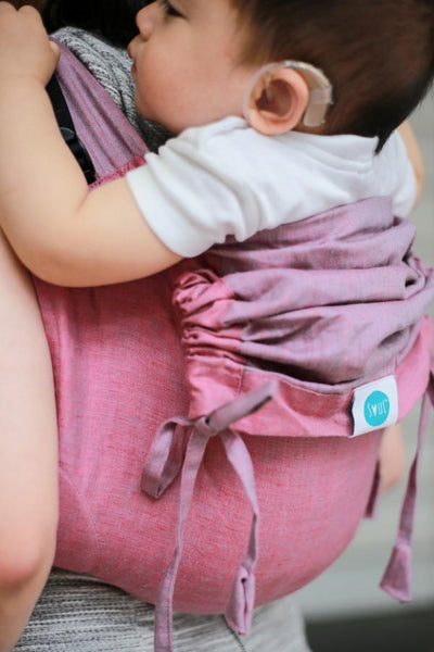 Sakura Onbuhimo Soul Slings-Onbuhimo-Soul Slings- Little Zen One US Babywearing baby carriers