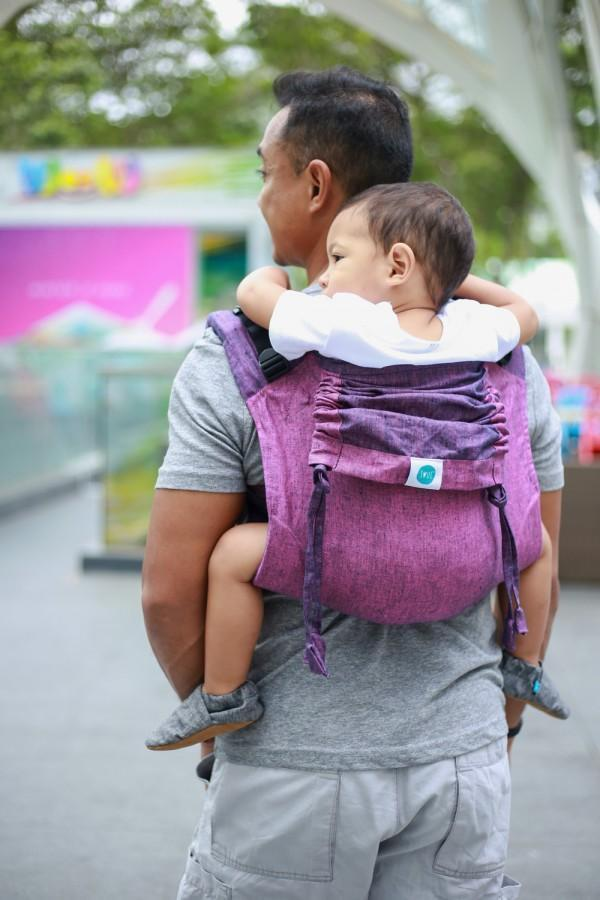 Sangria Onbuhimo Soul Slings-Onbuhimo-Soul Slings- Little Zen One US Babywearing baby carriers
