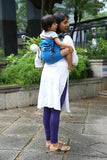 Soul Slings Onbuhimo Frozen linen-Onbuhimo-Soul Slings- Little Zen One US Babywearing baby carriers