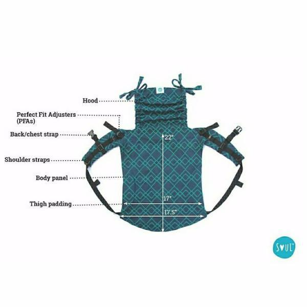 Soul Slings Onbuhimo Maze Honey-Onbuhimo-Soul Slings- Little Zen One US Babywearing baby carriers