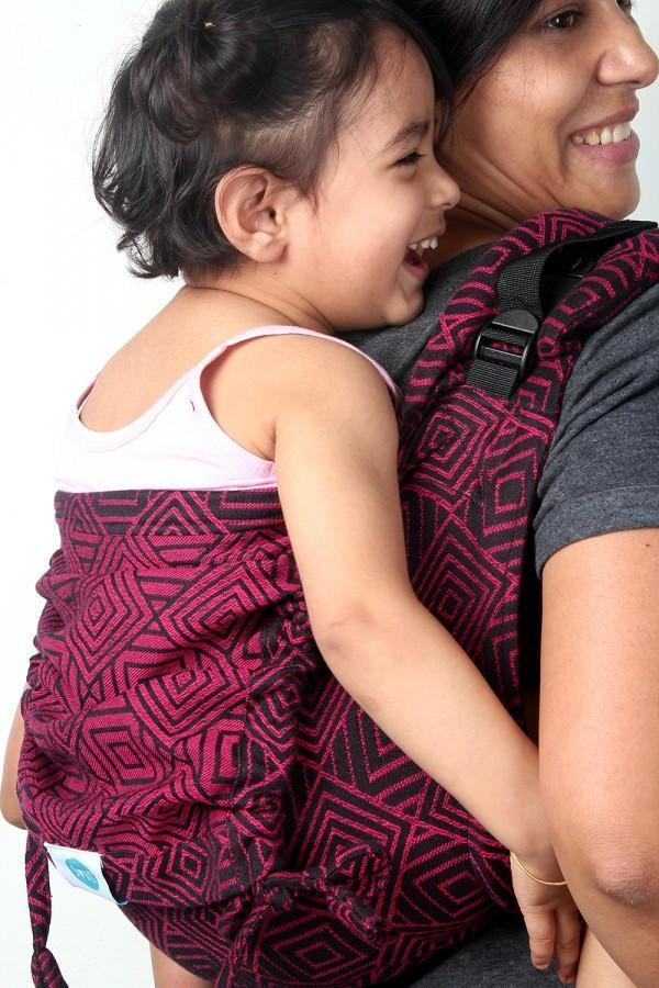 Soul Slings Onbuhimo Maze Pop-Onbuhimo-Soul Slings- Little Zen One US Babywearing baby carriers