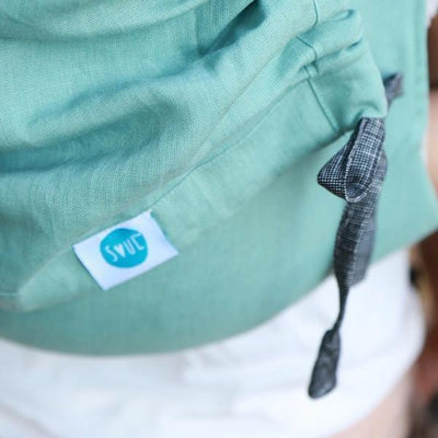 Soul Slings Onbuhimo Peppermint linen-Onbuhimo-Soul Slings- Little Zen One US Babywearing baby carriers