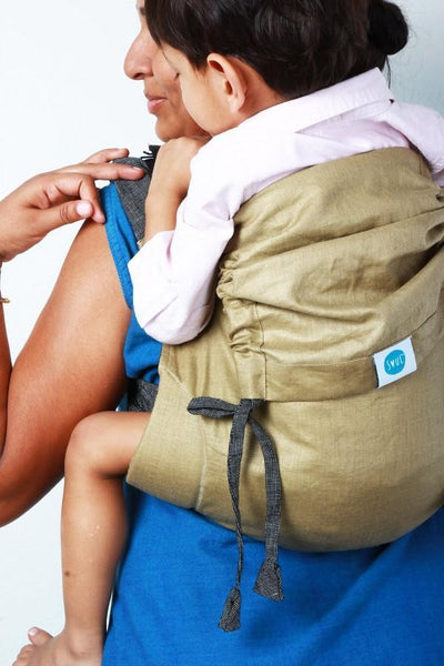 Soul Slings Onbuhimo Shine linen-Onbuhimo-Soul Slings- Little Zen One US Babywearing baby carriers