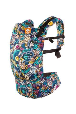 Space Rider Tula Standard Baby Carrier-Buckle Carrier-Baby Tula- Little Zen One US Babywearing baby carriers