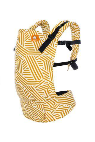 Sunset Stripes Tula Toddler Carrier-Buckle Carrier-Baby Tula- Little Zen One US Babywearing baby carriers