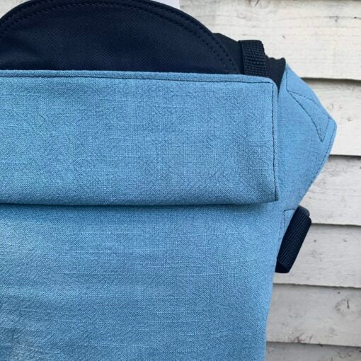 Integra Baby Carrier Teal Texture Linen