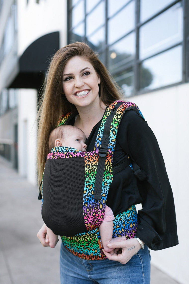 Totally Rad! Coast Tula Free-to-Grow Baby Carrier-Buckle Carrier-Baby Tula- Little Zen One US Babywearing baby carriers