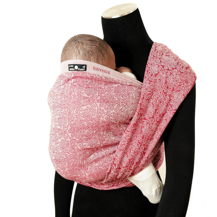 Didymos Woven Wrap Floris Ruby Red