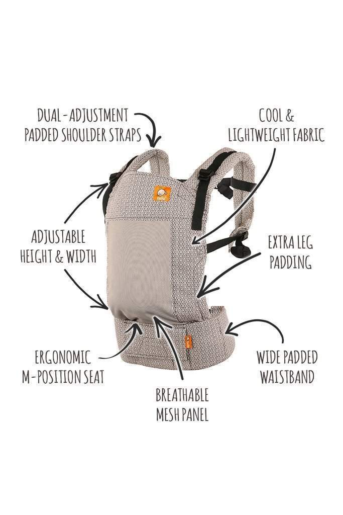 Tula Free-to-Grow Baby Carrier Coast Infinite-Buckle Carrier-Baby Tula- Little Zen One US Babywearing baby carriers