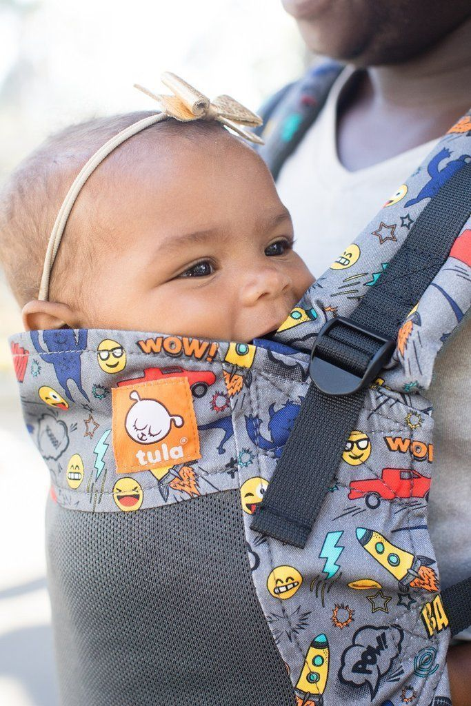 7abbef43bd86 Tula Free-to-Grow Baby Carrier Coast Stamps-Buckle Carrier-Baby Tula
