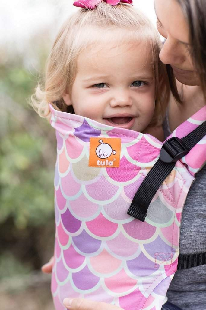 Tula Free-to-Grow Baby Carrier Syrena Sea-Buckle Carrier-Baby Tula- Little Zen One US Babywearing baby carriers