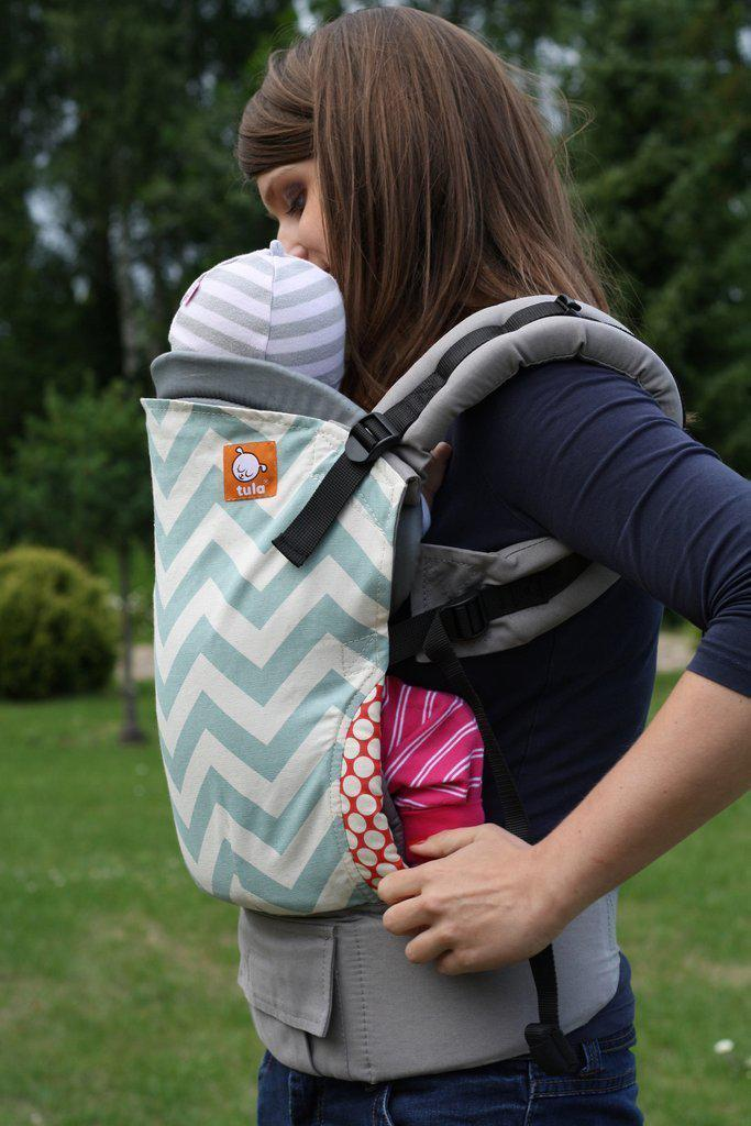 Tula Infant Insert Grey-Babywearing Accessories-Baby Tula- Little Zen One US Babywearing baby carriers