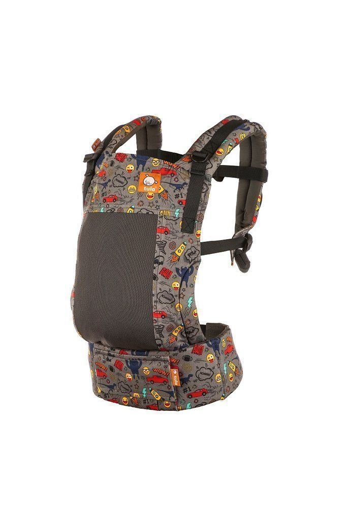 Tula Standard Baby Carrier Coast Stamps-Buckle Carrier-Baby Tula- Little Zen One US Babywearing baby carriers