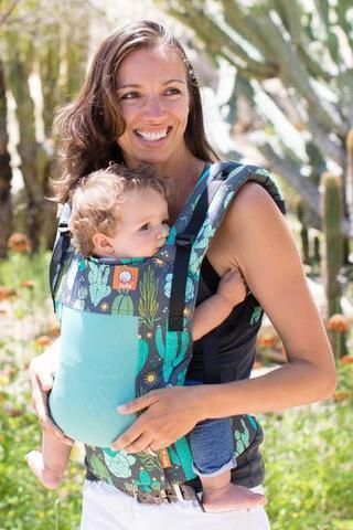 Tula Toddler Carrier Coast Cacti-Buckle Carrier-Baby Tula- Little Zen One US Babywearing baby carriers