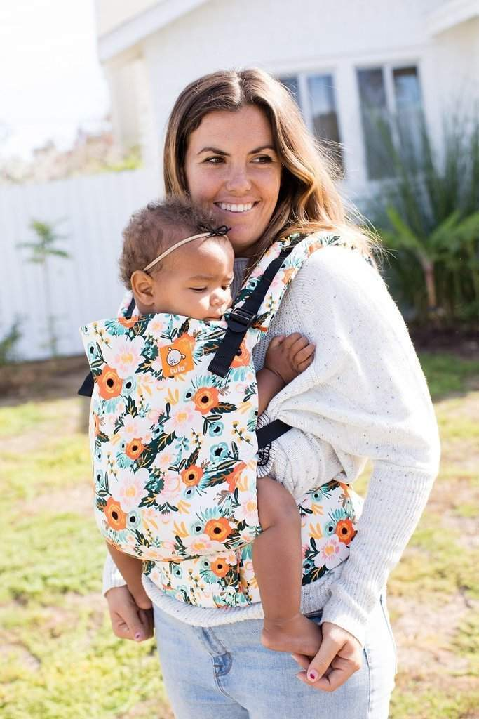 Tula Toddler Carrier Marigold-Buckle Carrier-Baby Tula- Little Zen One US Babywearing baby carriers