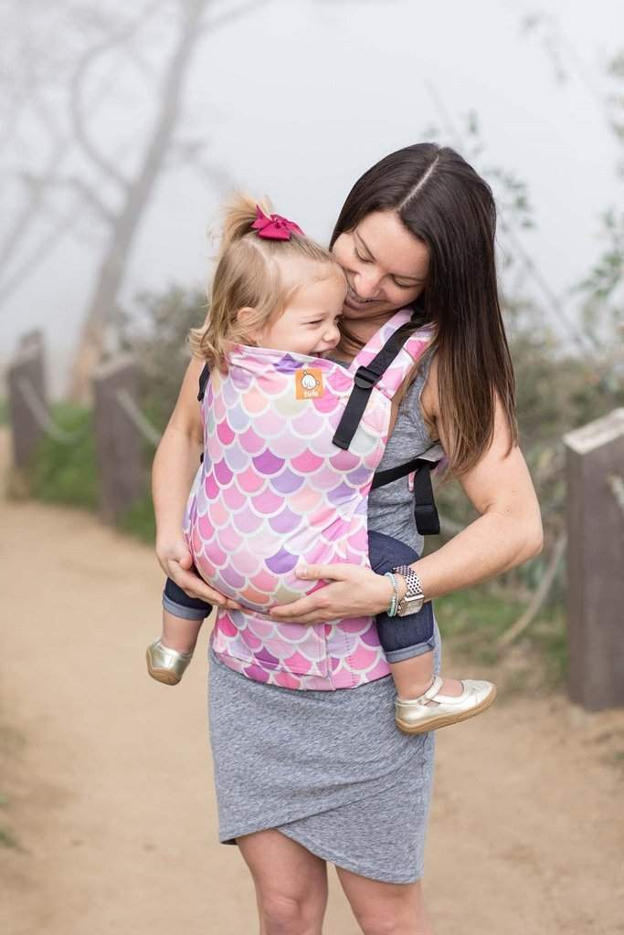 Tula Toddler Carrier Syrena Sea-Buckle Carrier-Baby Tula- Little Zen One US Babywearing baby carriers