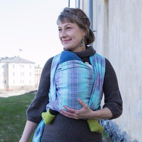 Vanamo Kide Malva-Woven Wrap-Vanamo- Little Zen One US Babywearing baby carriers