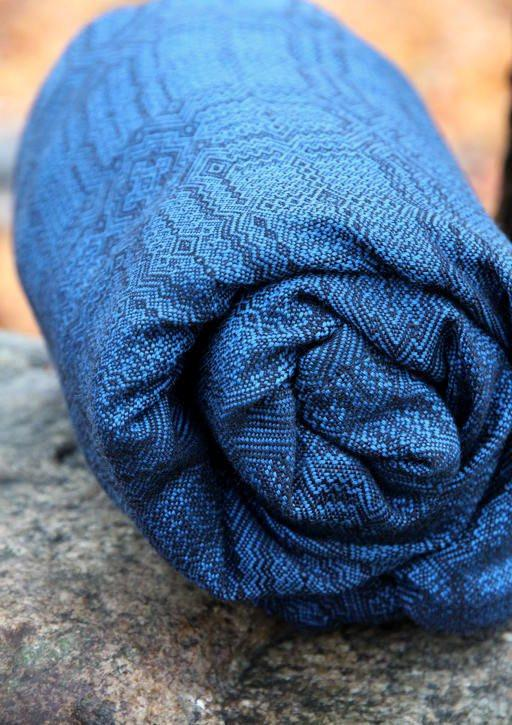 Vanamo Kide Uni wool-Woven Wrap-Vanamo- Little Zen One US Babywearing baby carriers