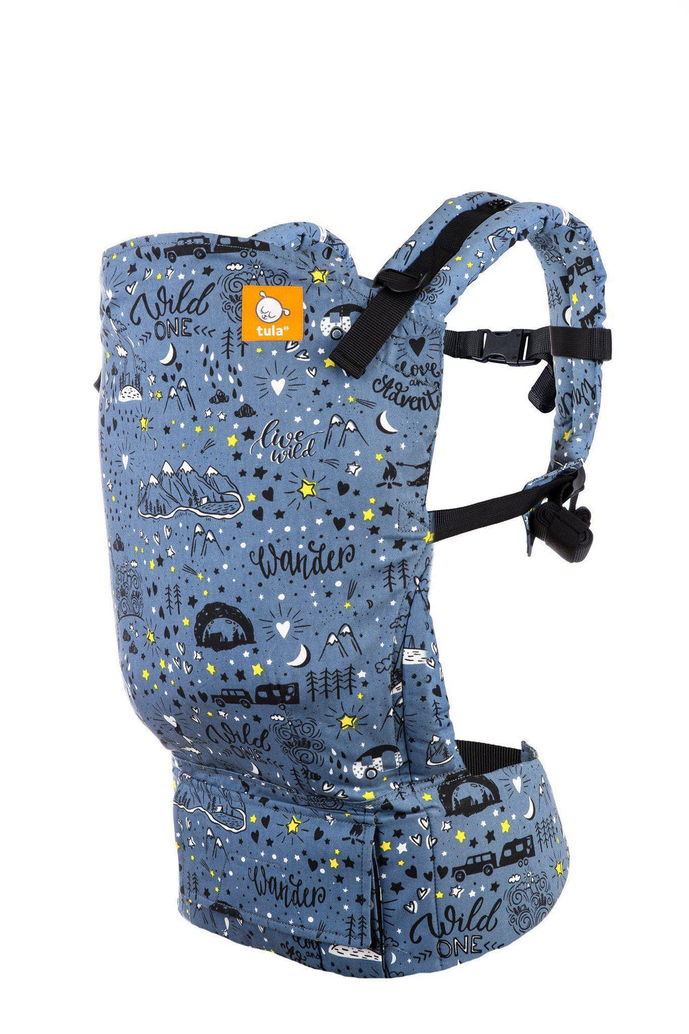 Wander Tula Free-to-Grow Baby Carrier-Buckle Carrier-Baby Tula- Little Zen One US Babywearing baby carriers