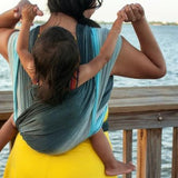 Wrapsody Breeze Gabriel-Woven Wrap-Wrapsody- Little Zen One US Babywearing baby carriers