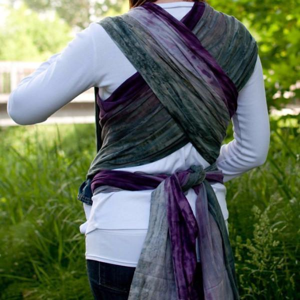 Wrapsody Breeze Lily-Woven Wrap-Wrapsody- Little Zen One US Babywearing baby carriers