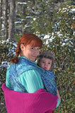 Wrapsody Hybrid Anna-Hybrid Wrap-Wrapsody- Little Zen One US Babywearing baby carriers