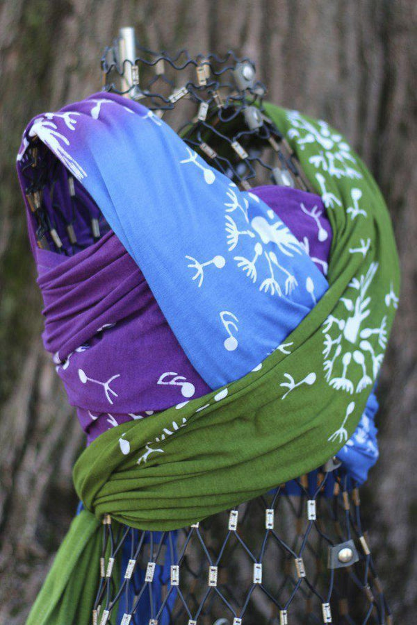 Wrapsody Hybrid Kristen-Hybrid Wrap-Wrapsody- Little Zen One US Babywearing baby carriers