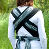 Wrapsody Hybrid Sterling-Hybrid Wrap-Wrapsody- Little Zen One US Babywearing baby carriers